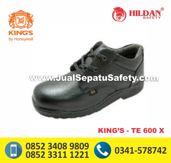 KING'S TE 600 X,Safety Shoes Pendek Bertali