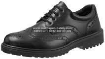 KJ 484 X,Safety Shoes KINGS Formal Bertali Asli Kulit
