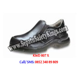 KWD 807 X Sepatu Safety KINGS Shoes Elastis samping pendek