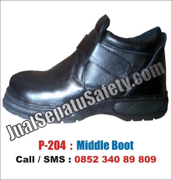 P.204 Sepatu Safety MURAH Lokal Surabaya, HP: 0852 340 89 809.