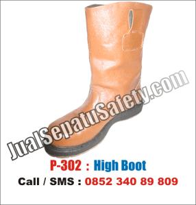 P.302 Sepatu Safety Shoes BOOTS Lokal MURAH, HP: 0852 340 89 809.