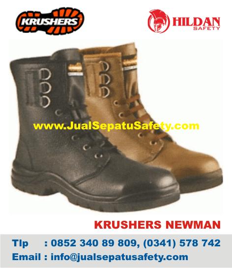 Sepatu Safety BOOTS Krushers NEWMAN Pertambangan dan Konstruksi