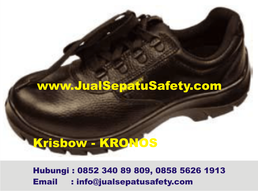 Distributor Safety Shoes Krisbow Kronos HP0852 340 89