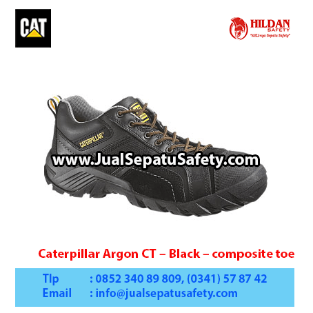 Caterpillar Argon CT – Black – composite toe1