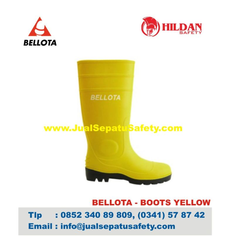 Sepatu Bellota Boot Yellow Safety Shoes