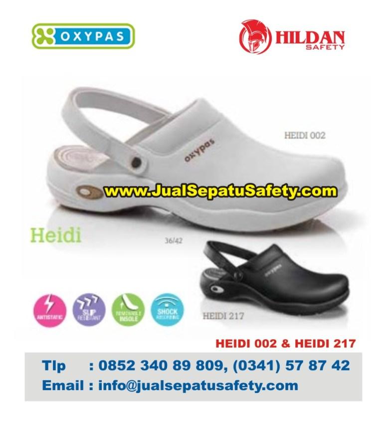 OXYPAS HEIDI, Sepatu Slip On Selop Untuk Perawat Nurse
