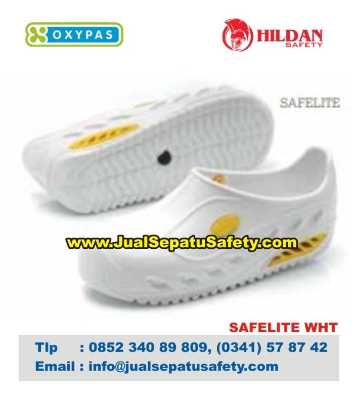 OXYPAS SAFELITE , Sepatu SAFETY Karet Evamate Cleaning Staff dan Catering Staff