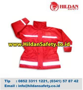 JS.002, Jaket Safety Merah Scotlight