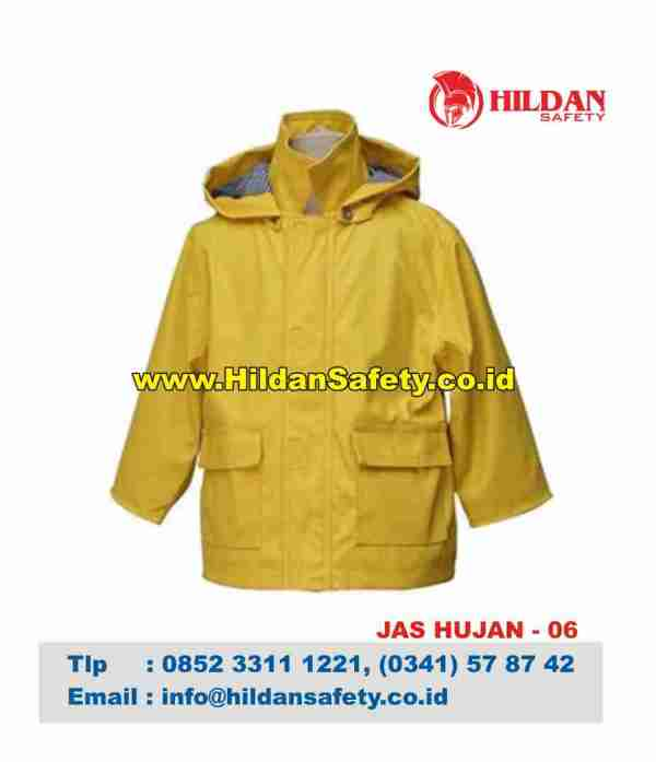 RC.006, Rain Coat Safety Kuning
