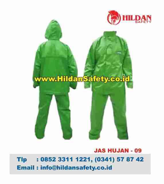 RC.009, Jas Hujan Aman Hijau