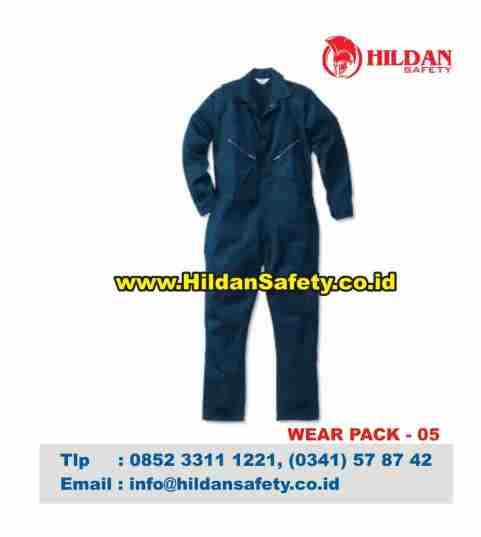 WP.005, Wear Pack Safety Hitam