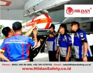 Pakaian Kerja SAFETY Teknisi Maskapai Penerbangan Hanggar Pesawat by HILDAN SAFETY