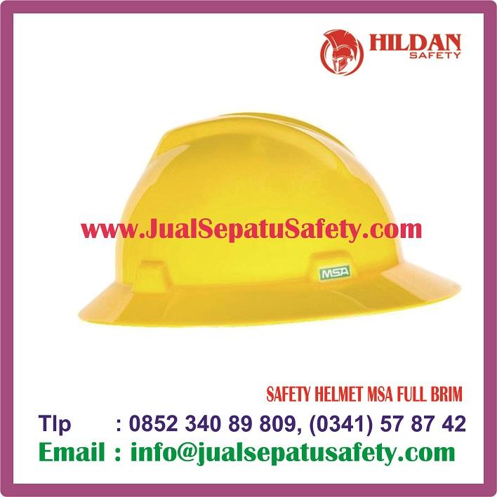 SAFETY HELMET MSA FULL BRIM