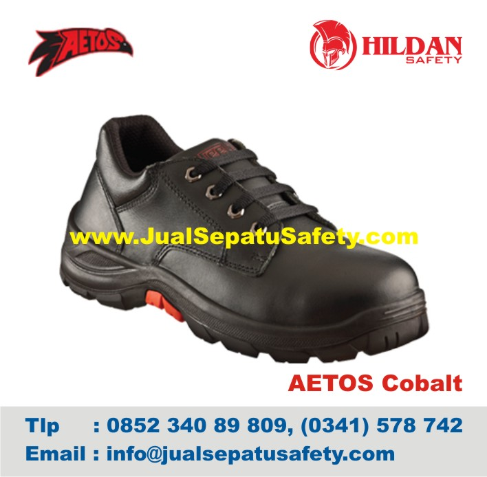 Sepatu Safety Shoes AETOS COBALT 813015