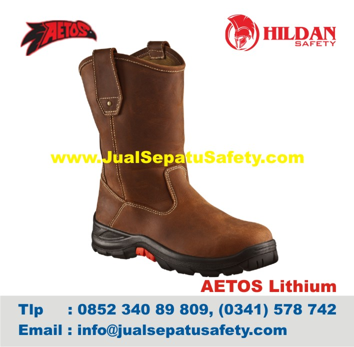 Sepatu Safety Shoes AETOS LITHIUM 813015 Mocca