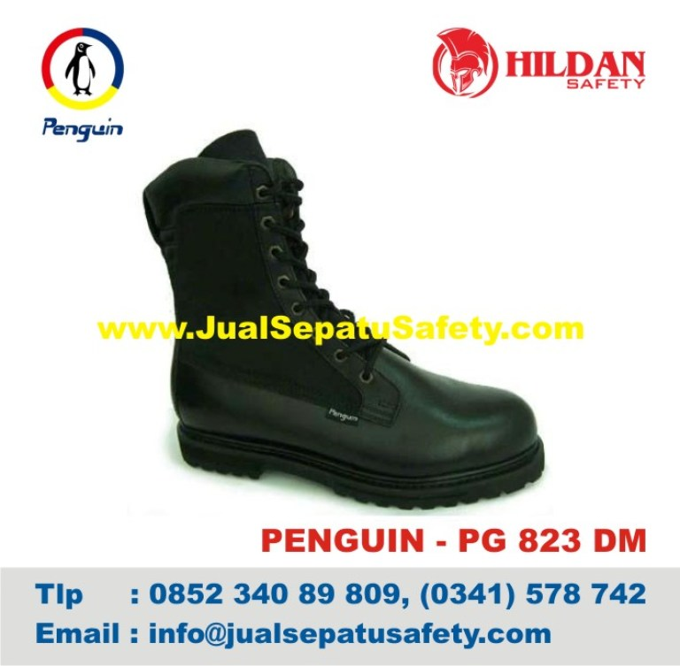 Sepatu Safety Shoes PENGUIN, PG 823 DM