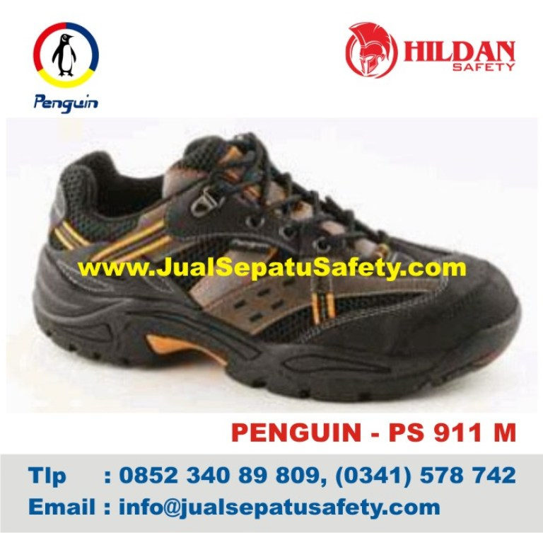 Sepatu Safety Shoes PENGUIN, PS 911 M