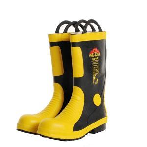 HP.0852-3311-1221,Sepatu Safety Pemadam Kebakaran Merk HARVIK