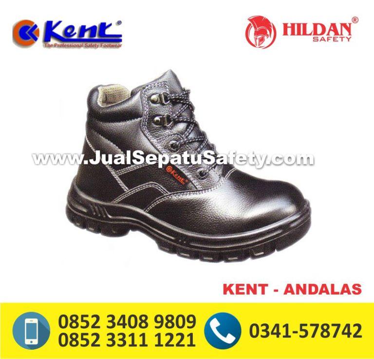KENT ANDALAS,Sepatu Safety Tinggi Bertali