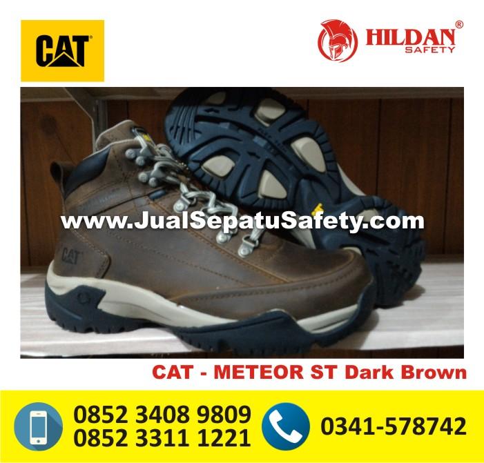 Toko Sepatu Caterpillar JOGJA-CAT METEOR ST Dark Brown