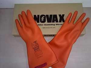 HILDAN SAFETY, JUAL Sarung Tangan TAHAN Listrik NOVAX Electrical Gloves