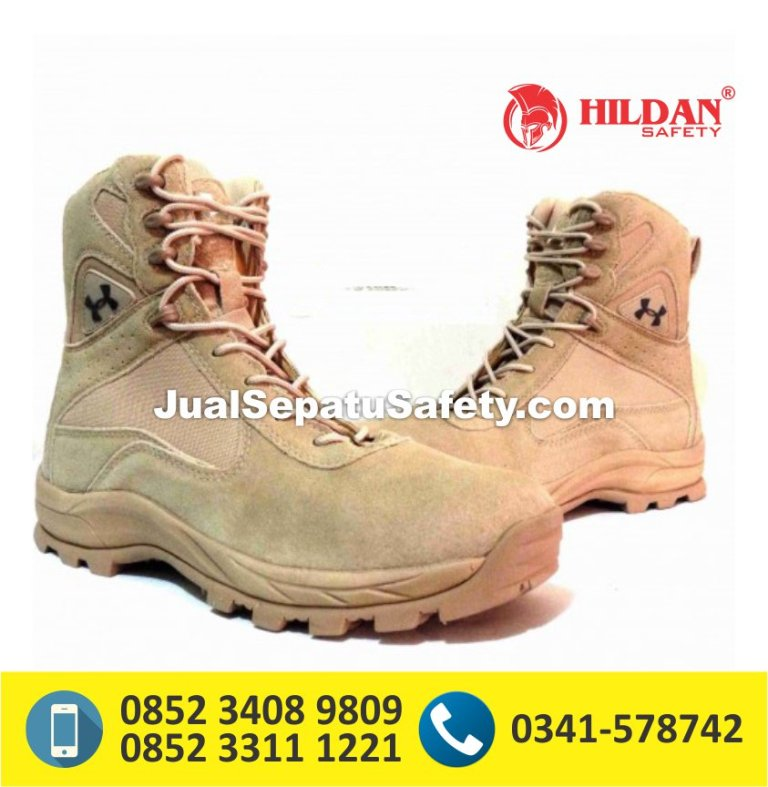 Underarmour Tactical Boots 8″ – Desert, sepatu army look,sepatu army hitam,sepatu army delta force
