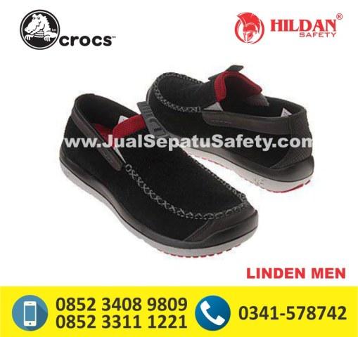 crocs linden men black
