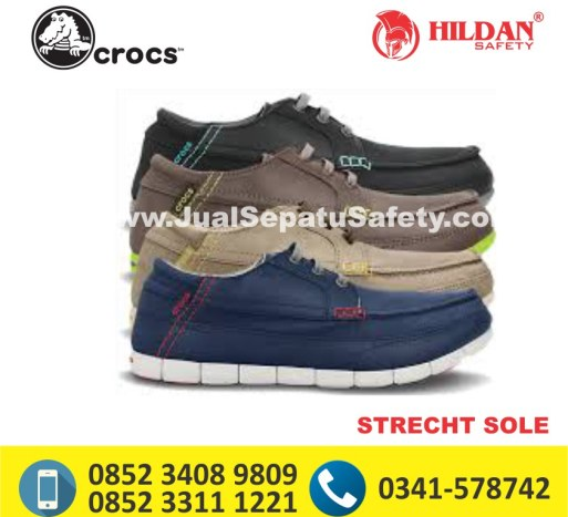 crocs strecht sole lace up