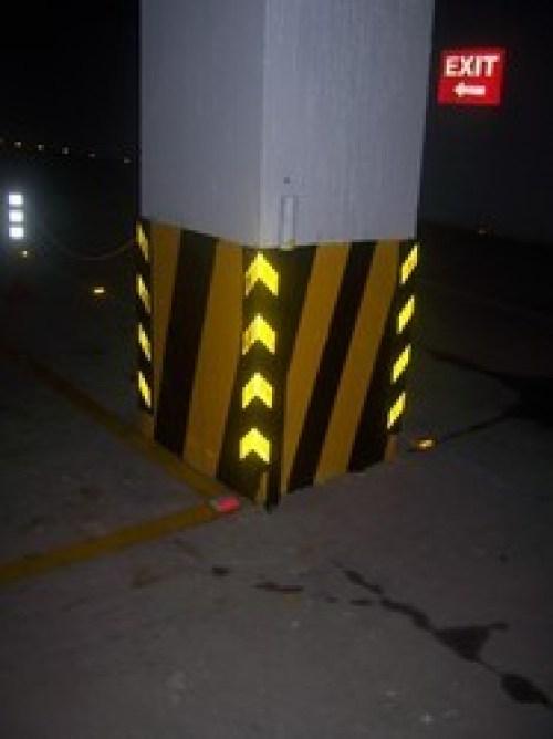 Harga Rubber Corner Guard Karet Pengaman Tiang Parkir Murah