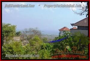 TANAH di JIMBARAN BALI DIJUAL MURAH 4,4 Are View laut Lingkungan villa