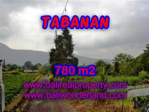 TANAH DIJUAL DI TABANAN MURAH RP 1.250.000 / M2 - TJTB100