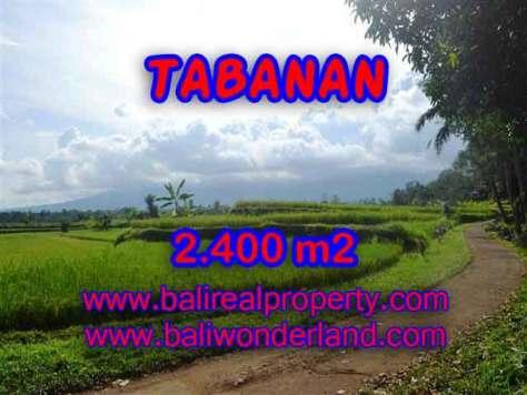 INVESTASI PROPERTI DI BALI - TANAH MURAH DI TABANAN DIJUAL CUMA RP 950.000 / M2