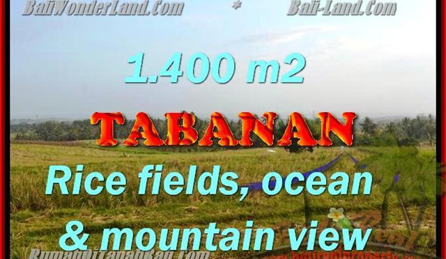 Peluang Investasi Properti di Bali – Jual Tanah murah di TABANAN TJTB143