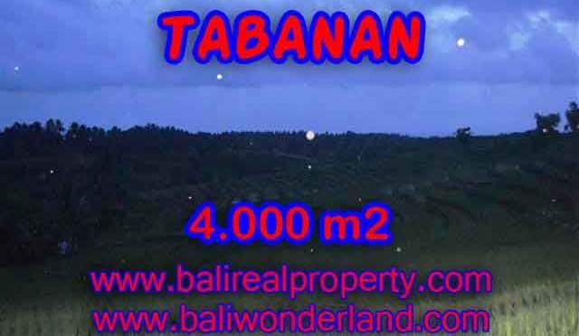 Jual Tanah murah di TABANAN TJTB096 - Kesempatan investasi property di Bali
