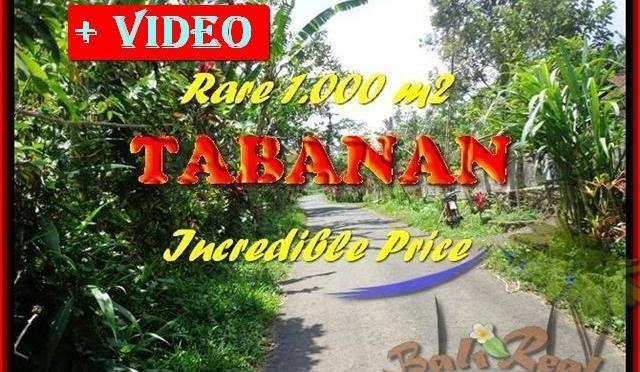 JUAL MURAH TANAH di TABANAN Untuk INVESTASI TJTB171
