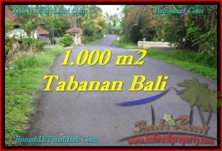 TANAH DIJUAL MURAH di TABANAN Untuk INVESTASI TJTB243