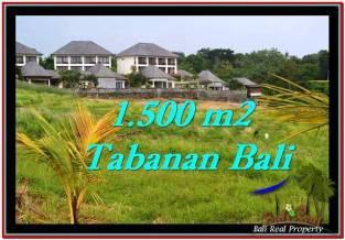 DIJUAL TANAH di TABANAN Untuk INVESTASI TJTB252