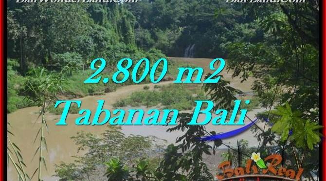 TANAH di TABANAN DIJUAL 2,800 m2 di Tabanan Selemadeg