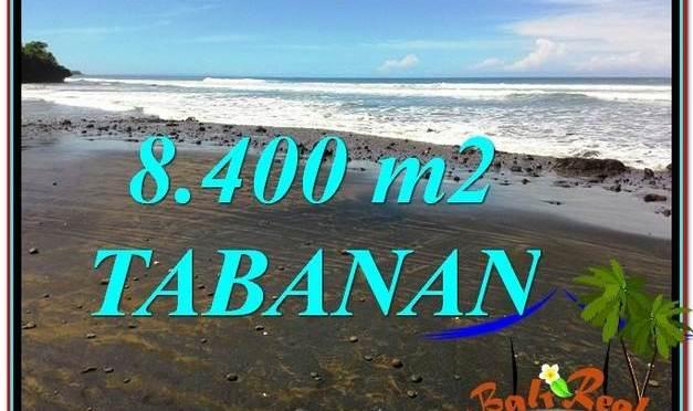 JUAL MURAH TANAH di TABANAN BALI 8,400 m2 View laut dan Lingkungan Villa