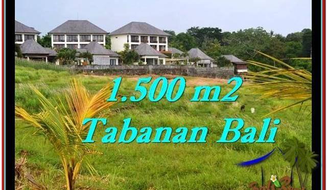 JUAL MURAH TANAH di TABANAN BALI 15 Are View sawah, laut dan gunung