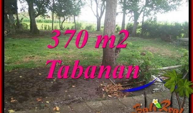 TANAH di TABANAN DIJUAL 370 m2 VIEW LAUT DAN SAWAH