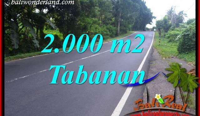 Investasi Property, jual Tanah Murah di Tabanan TJTB398