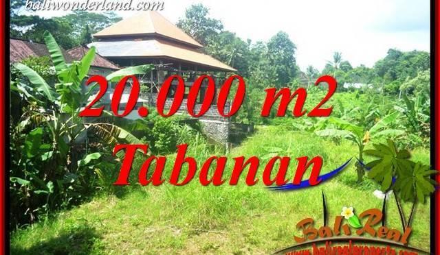 Investasi Property, Tanah Murah di Tabanan Dijual TJTB418