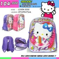 Grosir Tas Sekolah Hello Kitty,