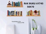 AY743-Fake-Bookshelf-Wall-Stickers-Art-Wall-Decor-Stickers-Wall-Decal-Stickers-Wall-Stickers-For-Bedrooms