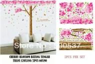 cherry-blossom-jm7188-Wallsticker ecer, grosir untuk dekor kamar, ruang tamu, kamar bayi. 085776500991-bu Eva