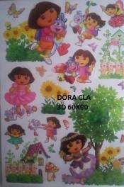 CLA054 DORA 3D Wallsticker kamar anak, grosir untuk dekor kamar, ruang tamu, kamar bayi. 085776500991-bu Eva