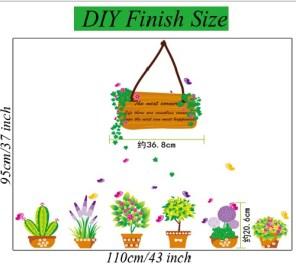 mj7031 Wallsticker ecer, grosir untuk dekor kamar, ruang tamu, kamar bayi. 085776500991-bu Eva