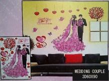 wedding-couple-3d-wallsticker-ecer-grosir-untuk-kamar-ruang-tamu-bayi
