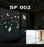 SF002 Jual Wall Sticker Murah, ecer dan grosir untuk kamar, ruang tamu, dapur, kamar bayi. Hub.Ibu Eva 085776500991